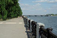 沃罗涅日河 库存图片