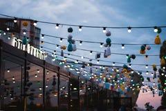 沃罗涅日,俄罗斯娱乐中心'暴徒'Churrasco酒吧BRAZEIRO 库存图片