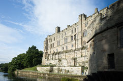 沃里克城堡,东南边 免版税库存照片