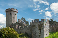 沃里克城堡,英国,英国 库存照片