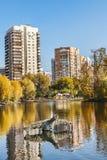 沃龙佐夫公园在莫斯科的中心 免版税图库摄影