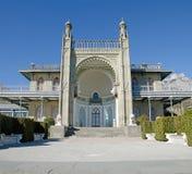 沃龙佐夫宫殿在克里米亚 免版税图库摄影