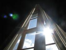沃龙佐夫宫殿的窗口 库存照片