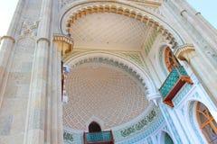 沃龙佐夫宫殿,克里米亚 免版税库存照片