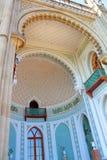 沃龙佐夫宫殿,克里米亚 库存照片
