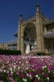 沃龙佐夫,阿卢普卡-克里米亚宫殿的门面  库存照片