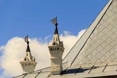 沃洛格达州克里姆林宫的建筑细节 免版税库存图片