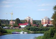 沃洛格达州城市视图  库存图片