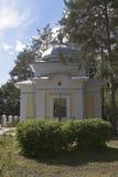 沃洛格达州的圣Gerasimos教堂在城市沃洛格达州 图库摄影