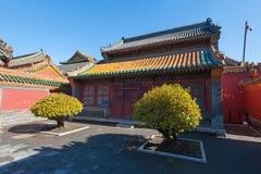 沈阳皇家宫殿 库存照片