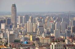 沈阳CBD,中国 免版税库存图片