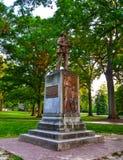 沈默山姆同盟者雕象北卡罗来纳大学Chape 库存照片