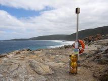 `沈默哨兵`紧急抢救设备,西澳州 库存图片