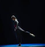 沈默现代舞蹈 库存图片