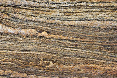 沉淀的岩石 免版税库存图片