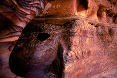 沉淀的岩石 免版税图库摄影
