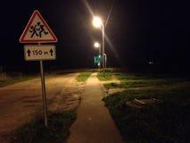 阴沉的道路 库存图片