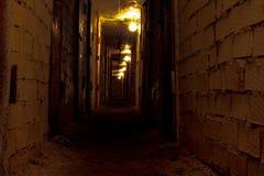 阴沉的隧道 库存照片