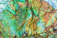 """沉积â€的储积形成的五颜六色的水成岩""""自然岩石层数背景、样式和纹理- 库存照片"""