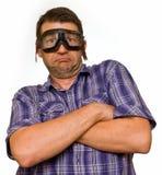 沉默寡言的人员惊奇 免版税库存照片