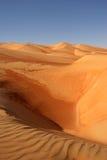 沙丘倒空季度 免版税库存图片