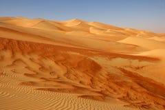 沙丘倒空季度 库存图片