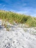 沙丘动态上限沙子 库存图片