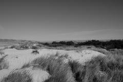 沙丘和中央谷地 图库摄影