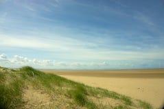 沙丘和海滩 图库摄影
