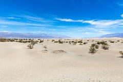 沙丘在死亡谷国家公园,加利福尼亚,内华达,美国 库存图片