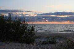 沙丘在立陶宛,年2012年 免版税库存照片