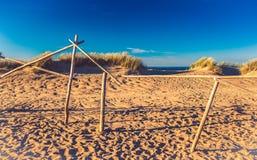 沙丘在立陶宛 图库摄影