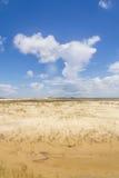 沙丘在Tavare市 免版税库存图片