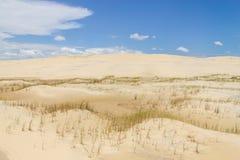 沙丘在Tavare市 库存图片
