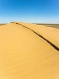 沙丘大沙子 库存图片