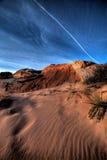 沙丘山沙子 库存图片