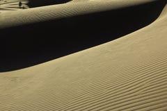沙丘接近  免版税库存图片