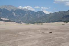 沙丘极大的国家公园沙子 免版税库存照片