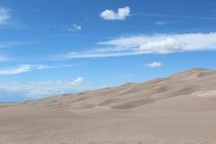 沙丘极大的国家公园蜜饯沙子 免版税库存图片