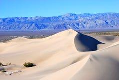 沙丘横向沙子 库存图片