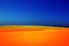 沙丘欧洲leba波兰 库存图片