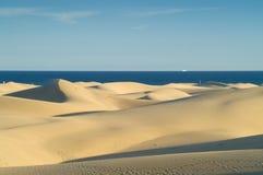 沙丘沙子海运 库存图片