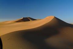 沙丘沙子阿拉伯联合酋长国 库存图片
