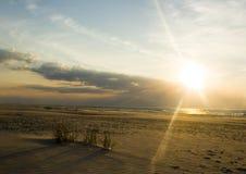 沙丘沙子 库存照片