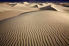 沙丘沙子 库存图片