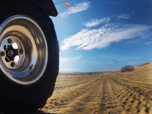 沙丘皇家沙子 库存图片