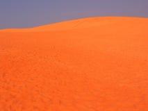 沙丘红色沙子越南 库存图片