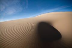 沙丘起波纹沙子 免版税库存照片