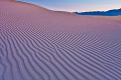 沙丘起波纹沙子 库存图片
