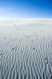 沙丘路径沙子 图库摄影